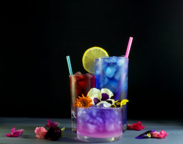 Butterfly Pea Cocktail