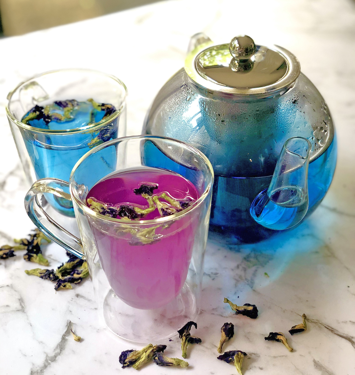 Butterfly Pea Flower Cocktails